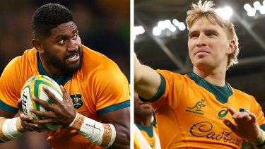 Isi Naisarani and Tate McDermott both make Paul Cully's starting XV for Saturday week's Bledisloe Cup opener in Auckland.