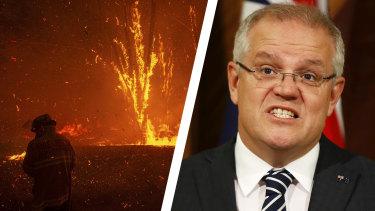 Morrison bushfire composite