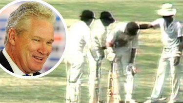 Dean Jones in India, Madras innings.