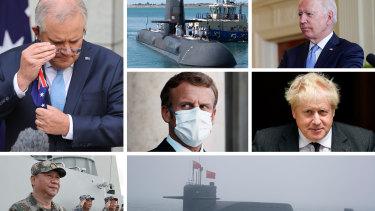 Submarine composite