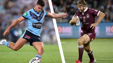 Nathan Cleary can expect plenty of pressure from Christian Welch.
