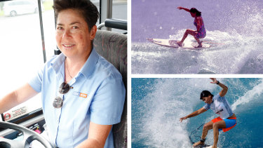Pauline Menczer won a world championship in women's surfing in 1993.