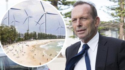 Abbott calls wind turbines 'the dark Satanic Mills' of the modern era