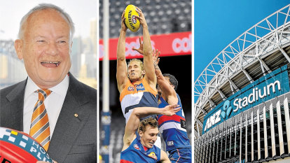 ANZ Stadium the 'sensible' option for AFL grand final, says Giants chairman