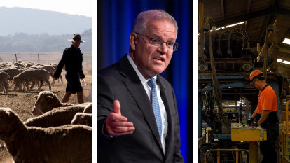 Industry key to Australia's emissions target, not 'inner city dinner parties': PM