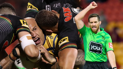 A year on from changing a grand final, six-again calls are escaping scrutiny