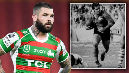 'Eric is glad it's Adam': The sad twist to a record-breaking moment for Souths