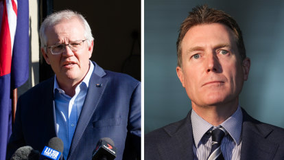 Porter saves Coalition from difficult byelection after resigning from cabinet