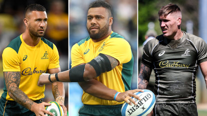 Amateur hour at Rugby Australia as star trio fly the coop