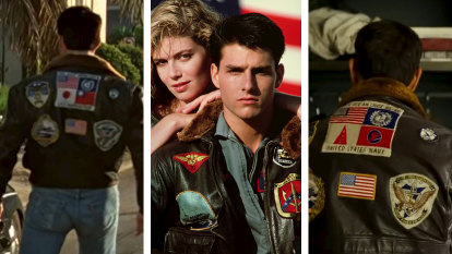 Tom Cruise's jacket is a little detail that says a lot about Hollywood's craven attitude to China