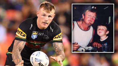 Dale Hopgood died after a game of footy. On Sunday, his son makes his NRL debut