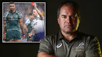 'I don't understand it': Wallabies boss wants 20-minute red cards for Test rugby