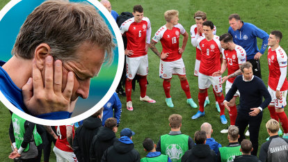 Tragedy and trauma fuels Denmark manager's drive for success