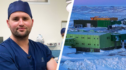 'Scalpel please, chef' at Australia's Antarctic operating theatres