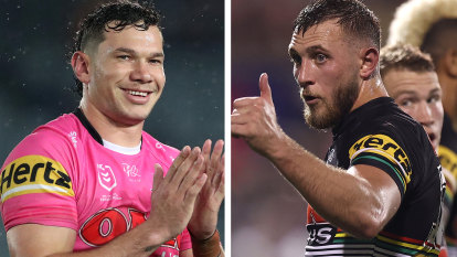 Bulldogs target off-contract Panthers stars Capewell and Naden