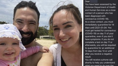 'Immediately quarantine': Text bungle creates confusion for Sydney travellers in Victoria