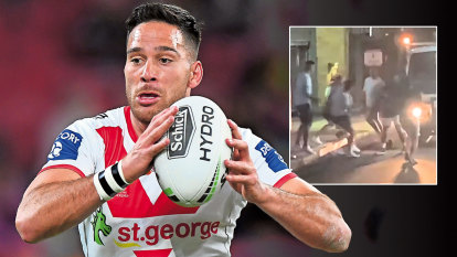 Norman street-fight fine halved but NRL doesn't accept 'no other option' explanation