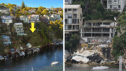 'Very shocked and surprised' as Sydney waterfront work site shutdown