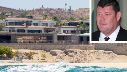 James Packer's $50m Mexican getaway takes shape