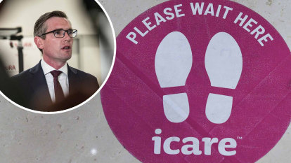 From 'baby' to problem child: Dominic Perrottet's icare headache