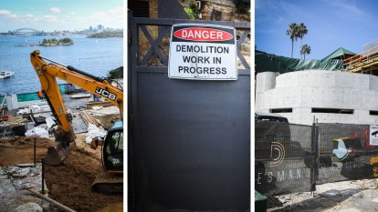 Sydney's renovation road, where knockdown rebuilds are a dime a dozen