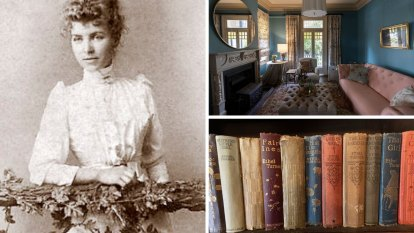 Inside the home that's part of Australia's literary history