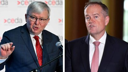 Rudd pushed Shorten for News Corp royal commission before election
