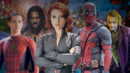 Australians have spent $1.8 billion on superhero films – but which is the favourite?