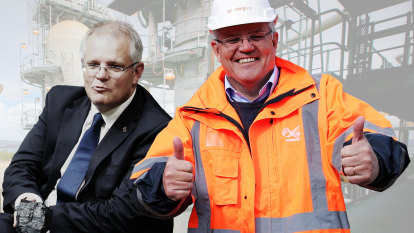 An old flame: Scott Morrison pushes his plans for gas