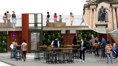 'Completely disingenuous': Small rooftop bar planned for Australia's oldest library