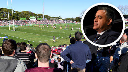 'More Bankwests': Barilaro reveals government will back NRL suburban stadiums