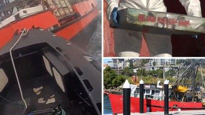 'Blow 'em up bro': Cops confronted explosive scene in high seas raid of drug boat