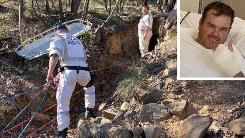 'The pain was unbelievable': Trail bike rider who fell 10m down a mine shaft to sue – Sydney Morning Herald