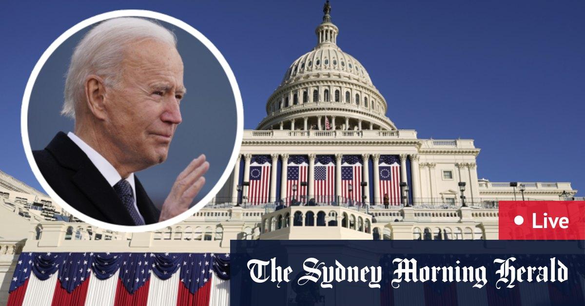 Inauguration Day LIVE updates: Joe Biden Kamala Harris to officially assume US office at heavily guarded ceremony in Washington – The Sydney Morning Herald