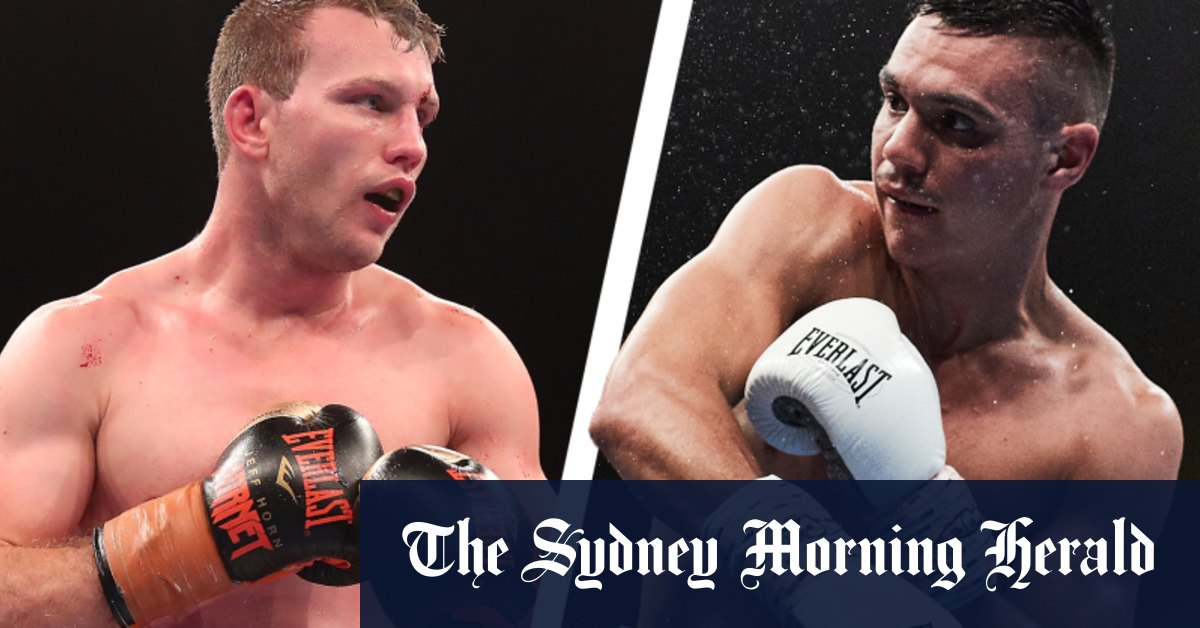 Jeff Horn v Tim Tszyu super welterweight fight LIVE updates – The Sydney Morning Herald