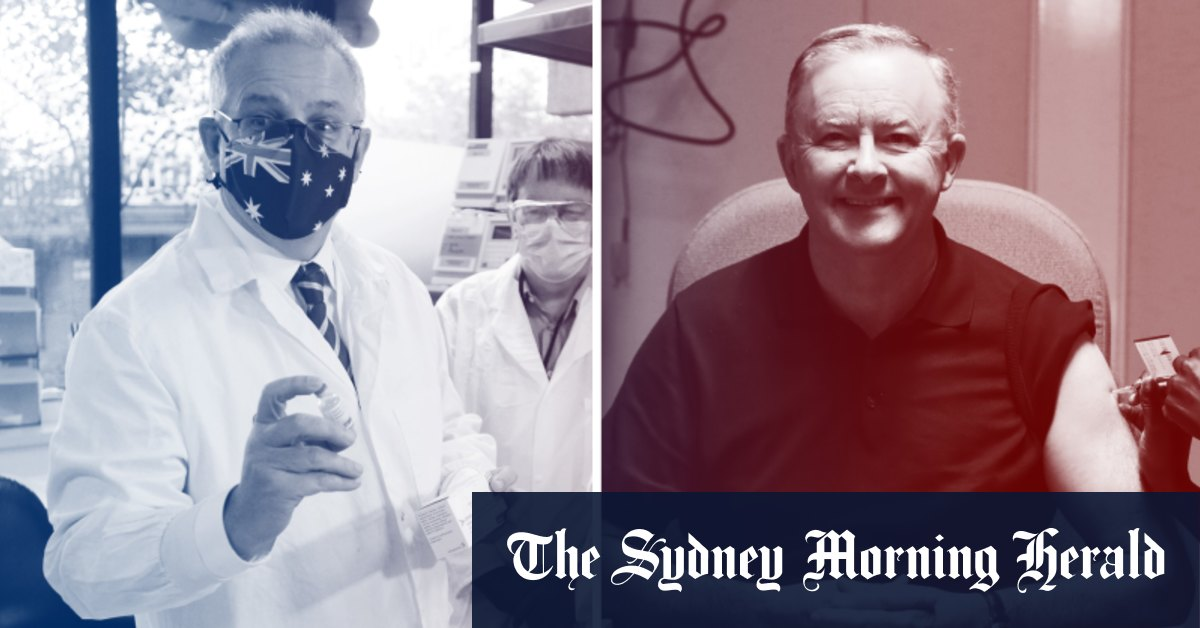 Vaccine rollout stumbles lead to slight drop in support for Coalition – Sydney Morning Herald
