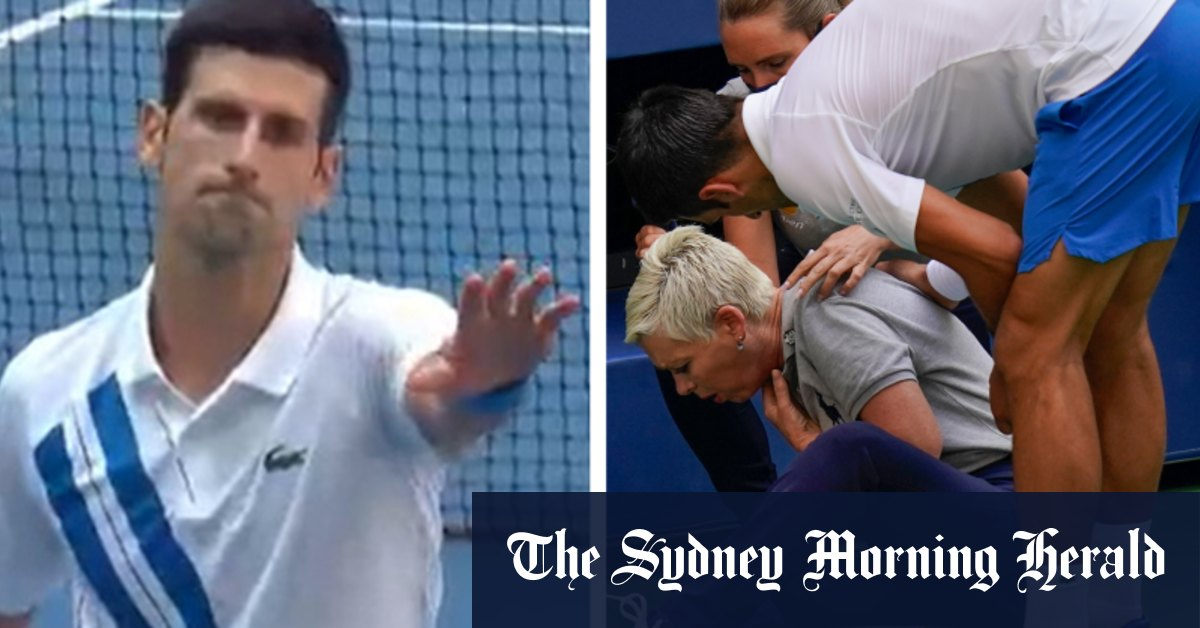 Us Open 2020 Novak Djokovic Booted After Hitting Official With Ball