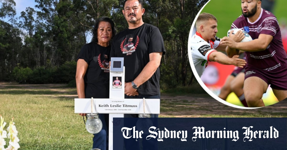 'Keith is no longer with us': Parents' agony over final moments of rising NRL star – Sydney Morning Herald