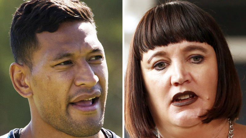 Nobody has stopped watching rugby because of Raelene Castle or Israel Folau