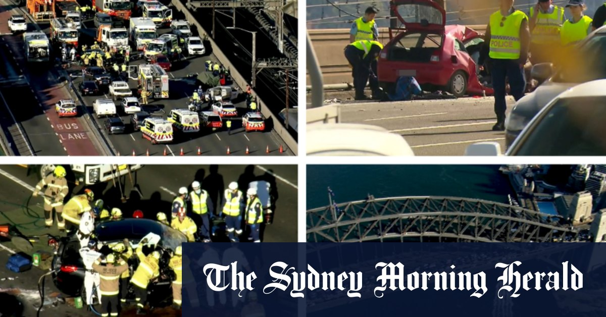 Deadly crash brings Sydney to a standstill forcing rescue crews to rush to the scene on foot – Sydney Morning Herald