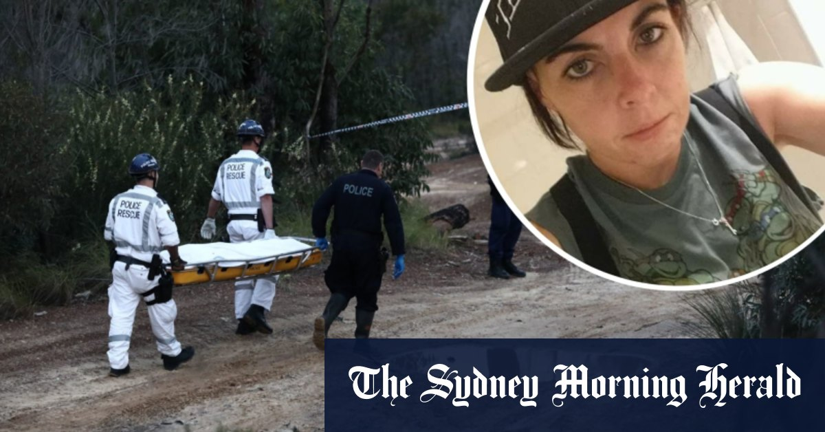 Two men charged with murder of woman found in bushland with burn injuries