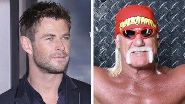 Chris Hemsworth Hulk Hogan composite.