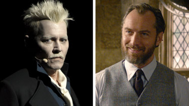 """Harry Potter author J.K. Rowling says Albus Dumbledore had a """"passionate"""" sexual relationship with Gellert Grindelwald. Photo: Supplied"""