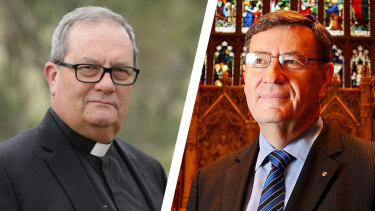 """Andrew Sempell, rector of St James' Church in Sydney, said Archbishop of Sydney Glenn was trying to provoke """"a split, a schism"""" between progressive and conservative Anglicans."""