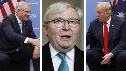 Australia at 'real risk' of recession, and a hot war with Iran, warns Kevin Rudd