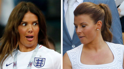 Row between wives of English footballers Rooney and Vardy goes viral