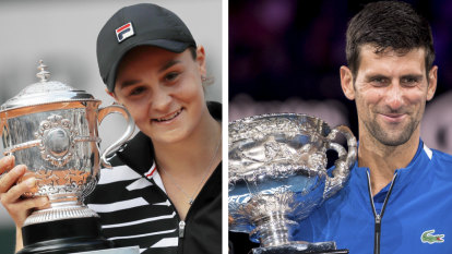 Barty, Djokovic named Wimbledon top seeds as Nadal displeased at demotion