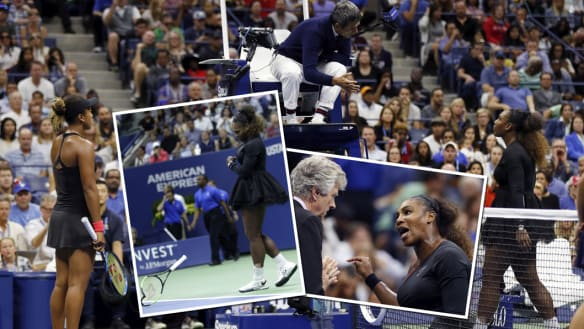 It is Serena Williams who owes an apology to umpire Carlos Ramos