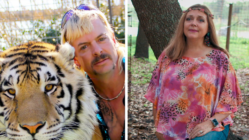Judge gives control of 'Tiger King' Joe Exotic's zoo to Carole Baskin
