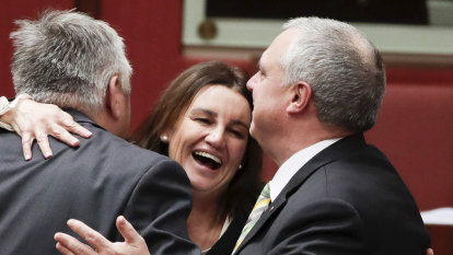 Lambie makes good on her vow to use her powers for good